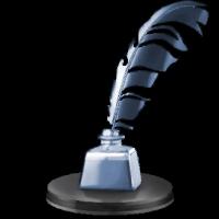 Platinum Quill Trophy