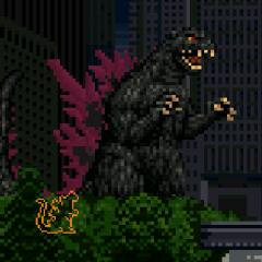 Super Burning Godzilla